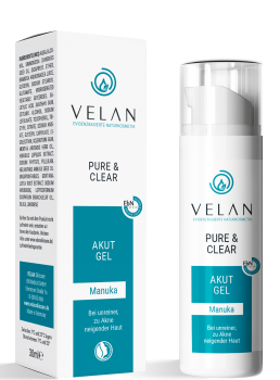 pure and clear akut gel